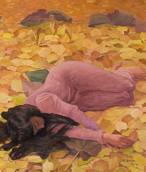 Ernest Bieler - Autumn leafs