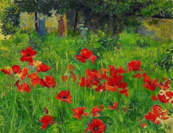 Ernest Bieler - Poppies