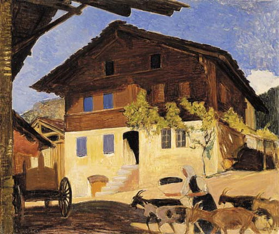 Ernest Bieler - Дом в Севье