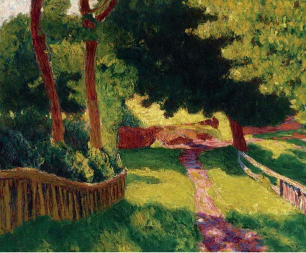 Roderic O`Connor - Sunny-Landscape
