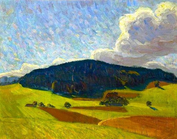 Roderic O`Connor - The Black Hill