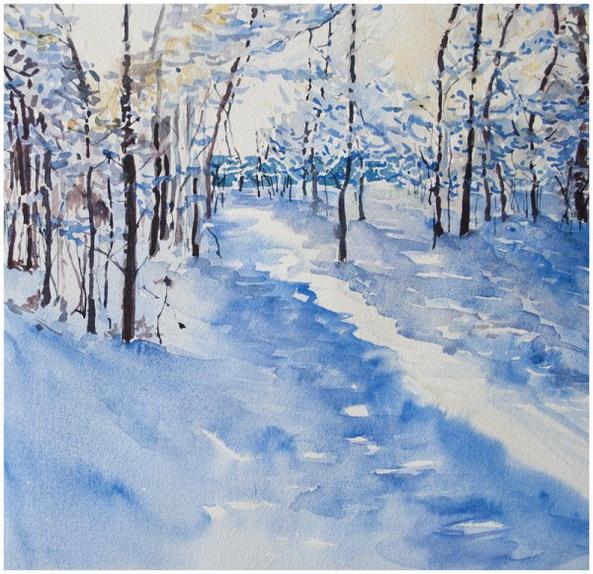 Angela Fehr -  White Winter Hymn