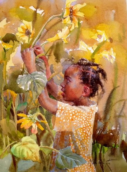 Mary Whyte - Flower