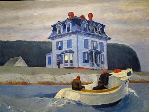 Edward Hopper   Los contrabandistas, 1925