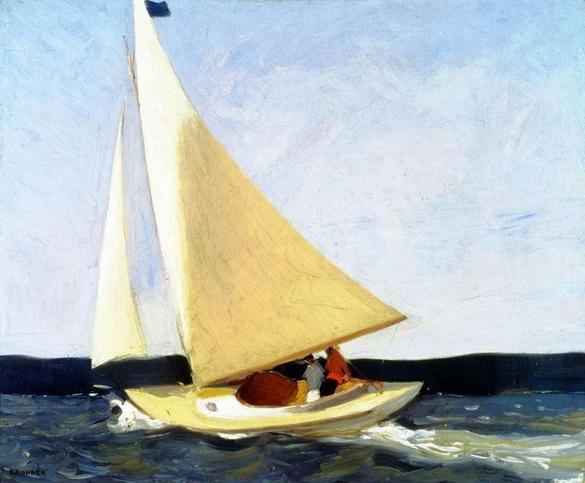 Edward Hopper   Sailing, 1911