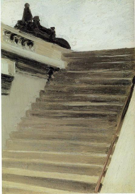 Edward Hopper ступени