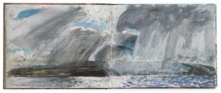 Duncan Shanks - Stormy Day, Arran