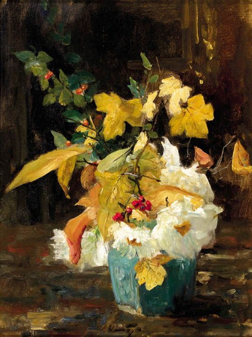 Floris Arntzenius - Autumn flowers