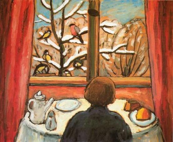 Gabriele Munter  Breakfast of the Birds.