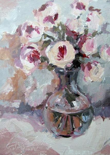 Gina Brown - Pink Roses