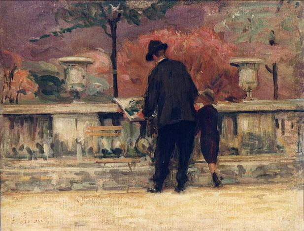 Eliseu Visconti   jardim-de--luxemburgo
