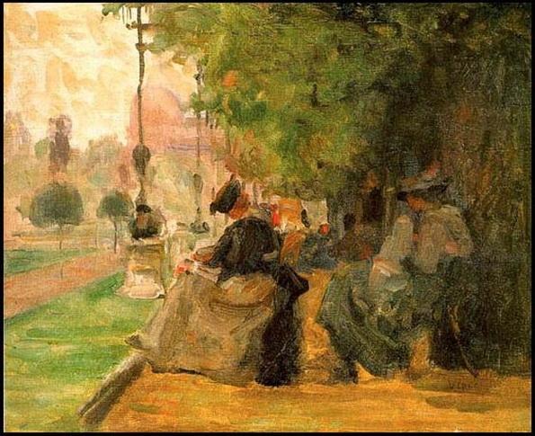 Eliseu Visconti Jardin du Luxembourg