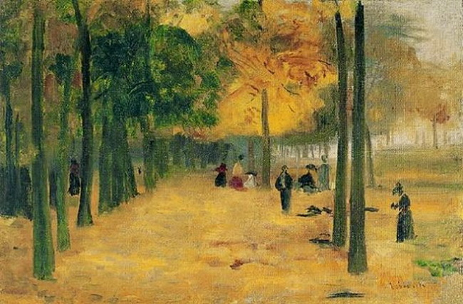 Eliseu Visconti Parque de Luxemburgo