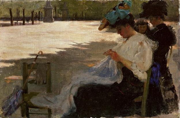 Eliseu Visconti Jardin du Luxembourg-