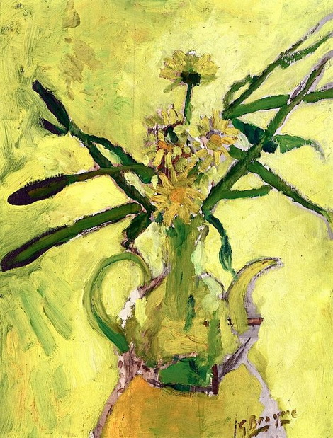 Georges Braque - Daisies in a Carafe