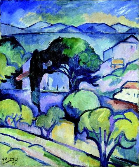 Georges Braque - Paysage de Provence