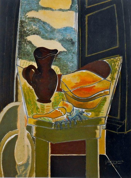 Georges Braque - The Black Pitche