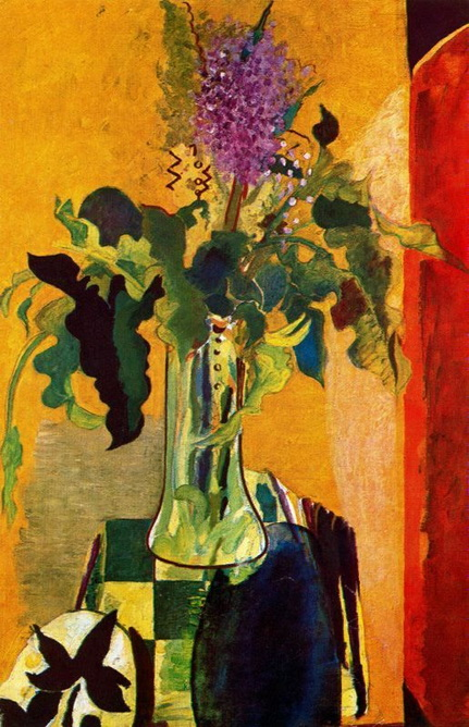 Georges Braque - The Glass of Lilac