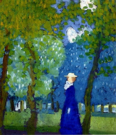 Maurice Denis - Woman in Blue