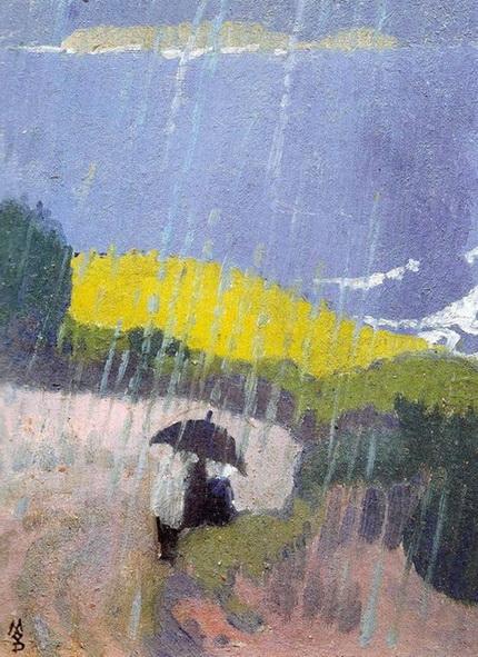 Maurice Denis - Pluie en Bretagne