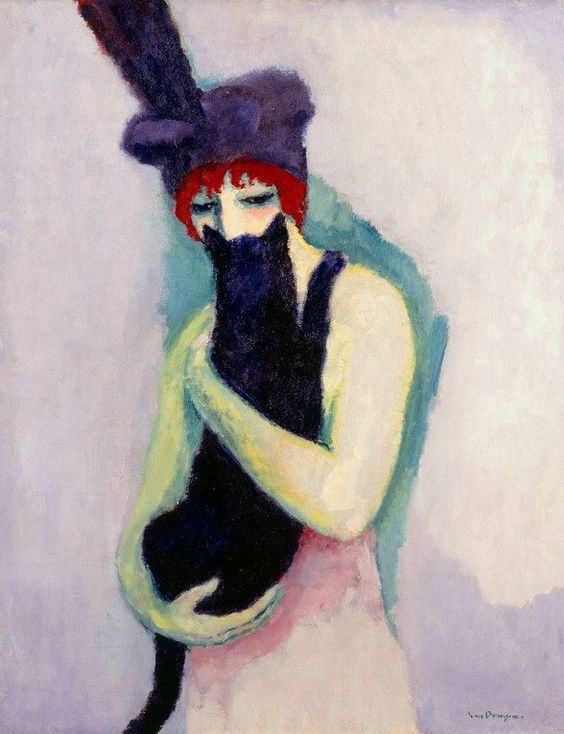 Kees Van Dongen - Black Cat