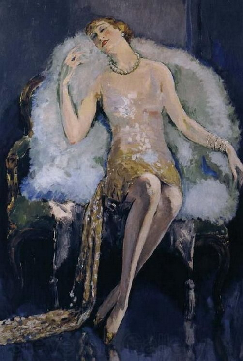 Kees Van Dongen -  The Swan Mantle