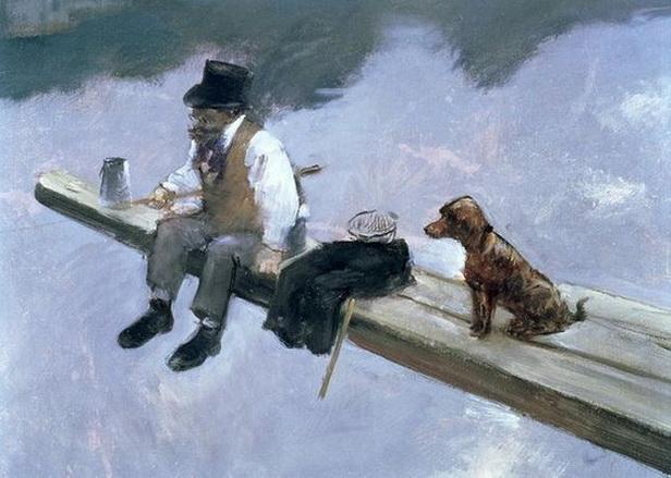 Jean-Louis Forain - The Fisherman