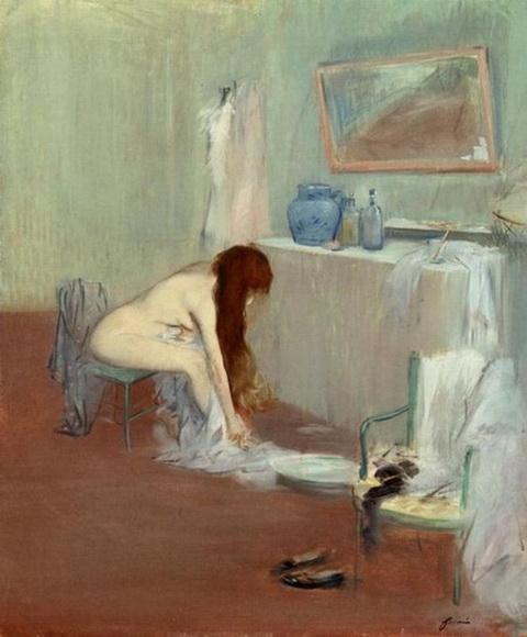 Jean-Louis Forain - Study of a Woman