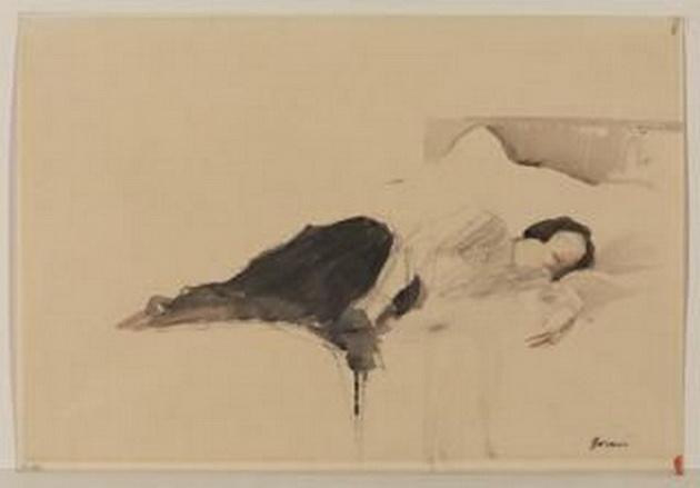 Jean-Louis Forain - Woman lying down