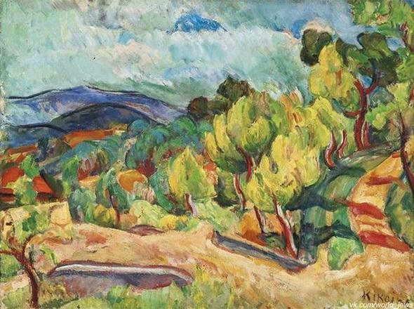 Михаил Кикоин - Деревья вдоль дороги