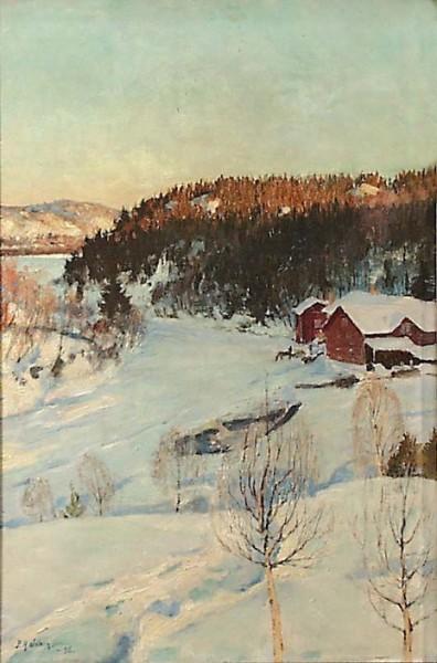 Pekka Halonen - Evening Mood,