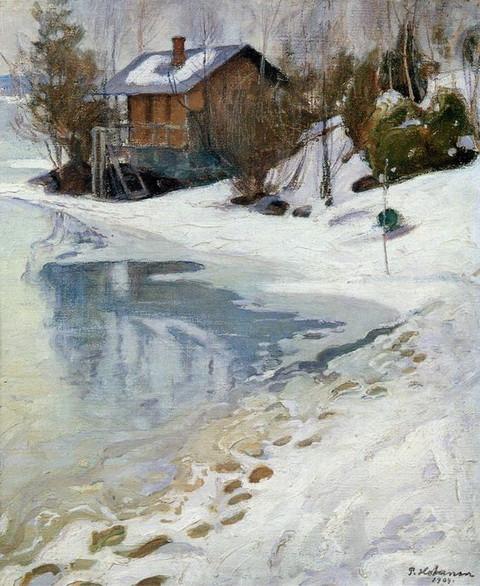 Pekka Halonen - Late Winter