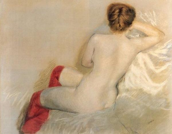 Giuseppe De Nittis - nude