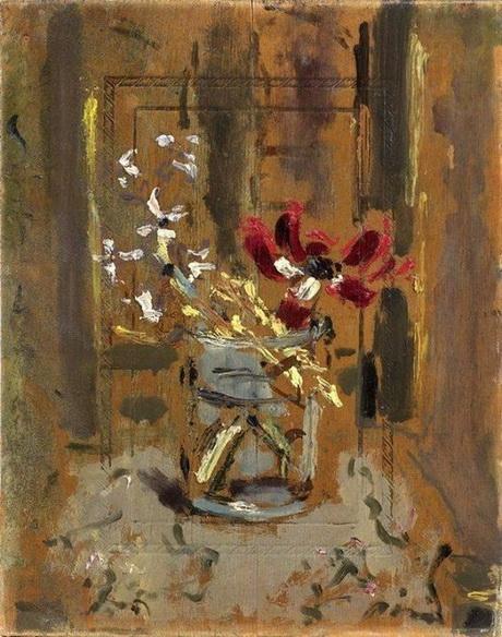 Filippo de Pisis - Flowers in the glass