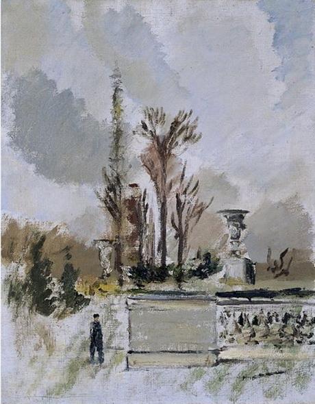 Filippo de Pisis - Paesaggio di Parigi, 1931.
