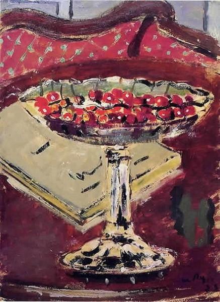Filippo de Pisis - Cherries