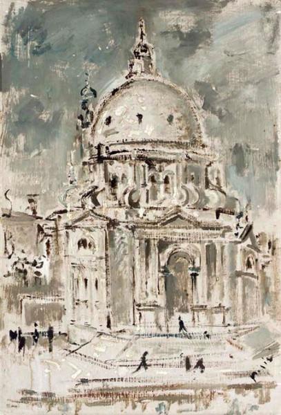 Filippo de Pisis -  Chiesa della Salute Venezia