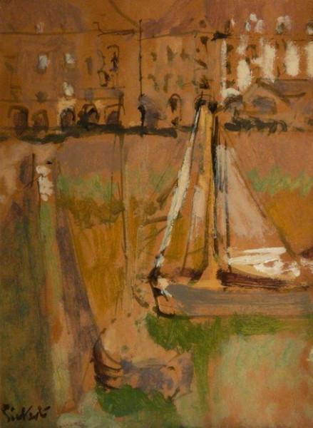 Walter Richard Sickert - Dieppe Harbour