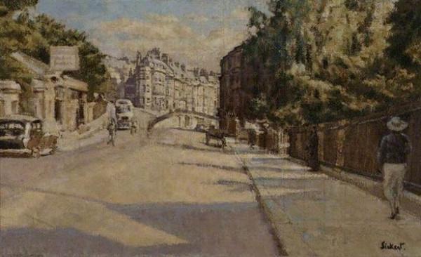 Walter Richard Sickert -  London Street