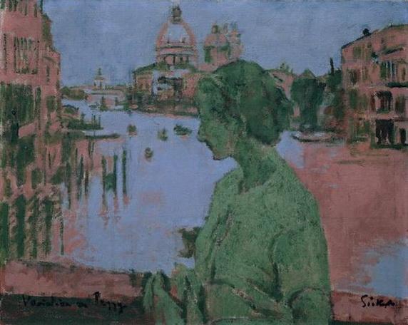 Walter Richard Sickert - Venice  VARIATION ON PEGGY, 1934