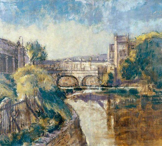 Walter Richard Sickert -  Bridge, Bath