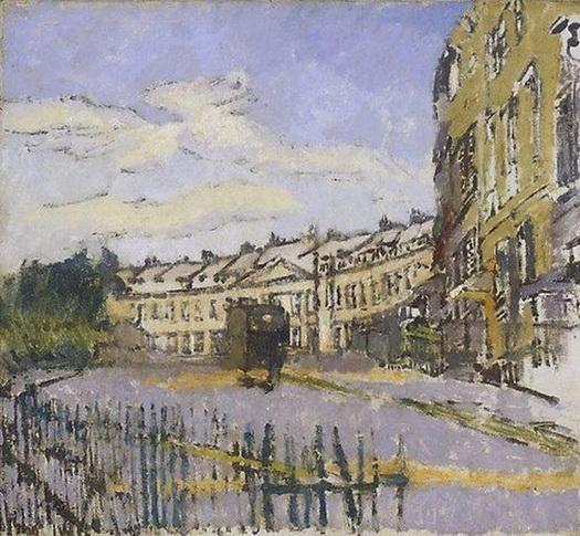 Walter Richard Sickert -  Lansdown Crescent Bath