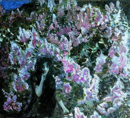 Врубель - Lilac