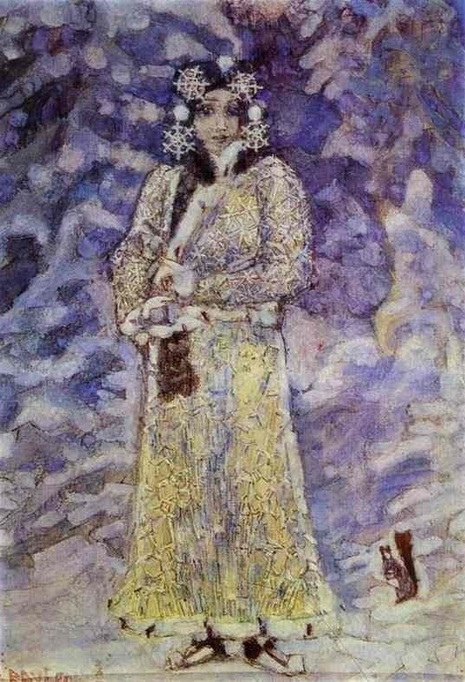 Mikhail Vrubel - The Snow Maiden (1895)