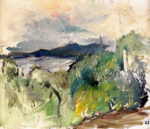 Olle Skagerfors -  Greenery by the Coast