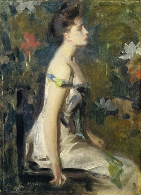 Irving Ramsey Wiles -  White Shoulders