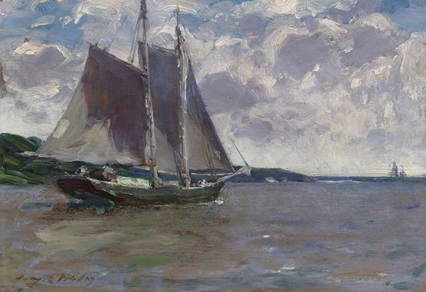 Irving Ramsey Wiles -  Outward Bound