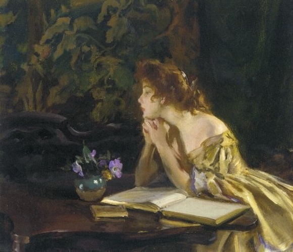 Irving Ramsey Wiles - Idle Moments