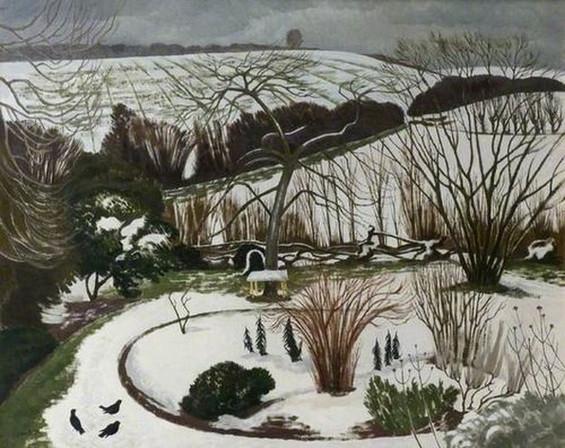 Paul Nash - The Garden in Winter