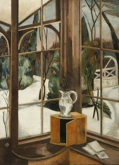 Paul Nash -  The Window, Iver Heath